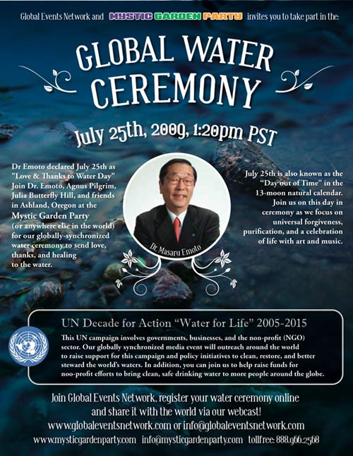 Water for Life Global Ceremony